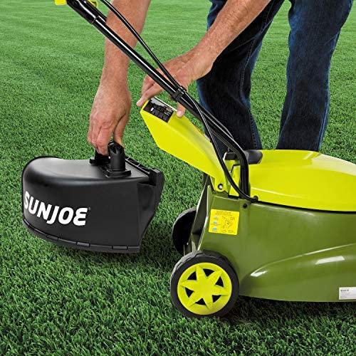 "61dq7Gd4+TL. AC  - Sun Joe MJ401E-PRO 14 inch 13 Amp Electric Lawn Mower w/Side Discharge Chute, 14"", Green"