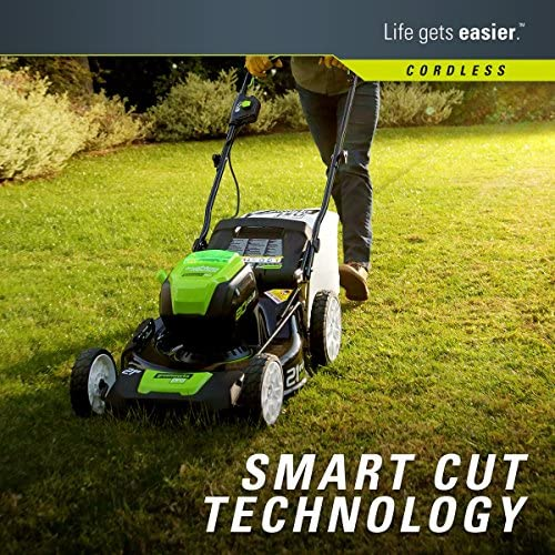 61wQNTZE9mL. AC  - Greenworks 2502202 Pro 21-Inch 80V Push Cordless Lawn Mower, Battery and Charger Not Included