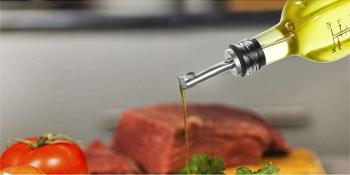 998ab38e 9f21 45b0 b5b6 8aae738c7342.  CR0,0,350,175 PT0 SX350 V1    - [2 PACK]Aozita 17 oz Glass Olive Oil Dispenser Bottle Set - 500ml Clear Oil & Vinegar Cruet Bottle with Pourers, Funnel and Labels - Olive Oil Carafe Decanter for Kitchen