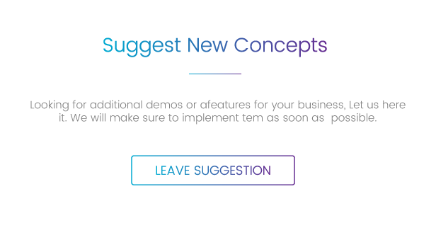 Composer Landing Sugession - Composer - Responsive Multi-Purpose High-Performance WordPress Theme
