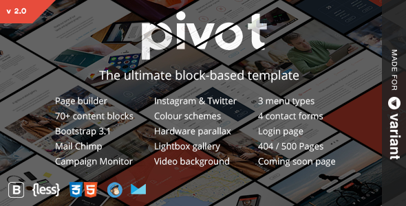 Image Preview.  large preview - Pivot | Multi-Purpose HTML with Page Builder