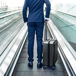 """a629344a 56bf 40e7 810f 62162985ab44.  CR0,0,630,630 PT0 SX300 V1    - NINETYGO Carry on Luggage 22x14x9 with Spinner Wheels, Hardside Carry on Suitcase with Front Pocket Lock Cover, Super Convenience & Lightweight for Business Travel (20"""")"""