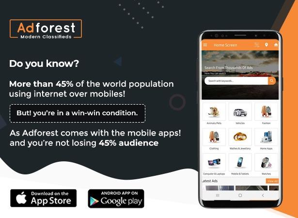 adforst - AdForest - Classified Ads WordPress Theme