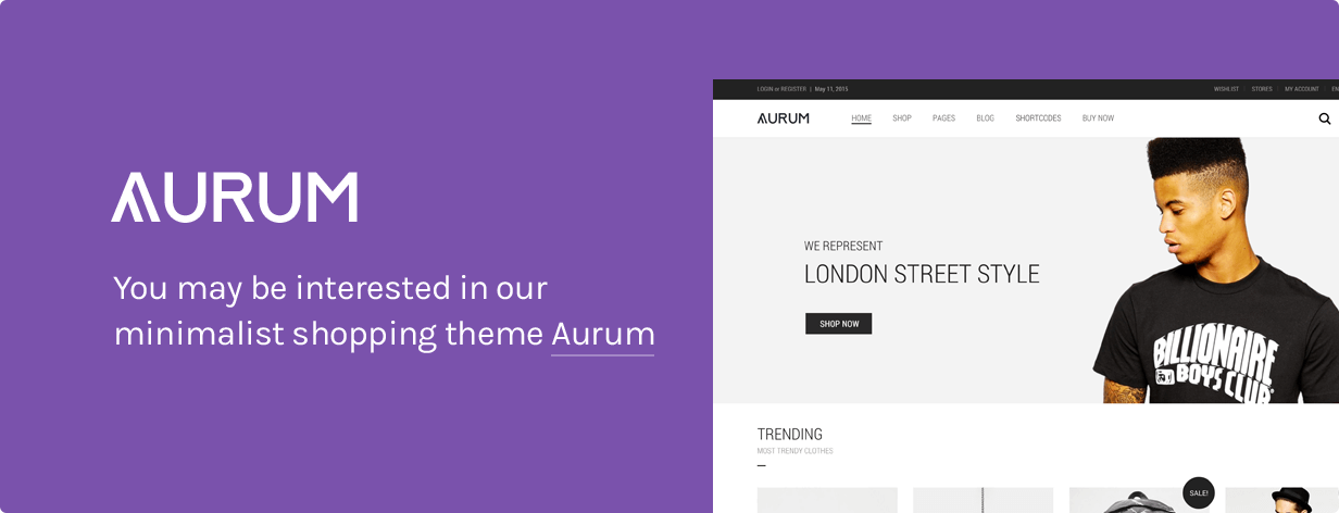 aurumii - Oxygen - WooCommerce WordPress Theme