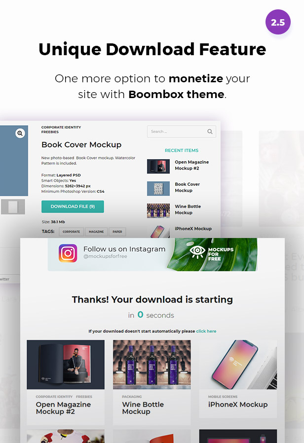 banner for download page - BoomBox — Viral Magazine WordPress Theme