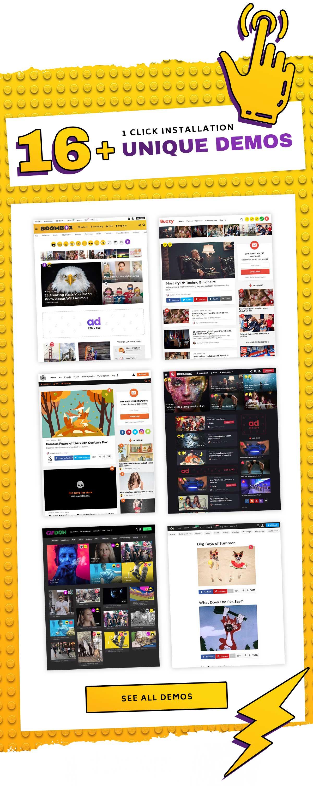 boombox new presentation demo - BoomBox — Viral Magazine WordPress Theme