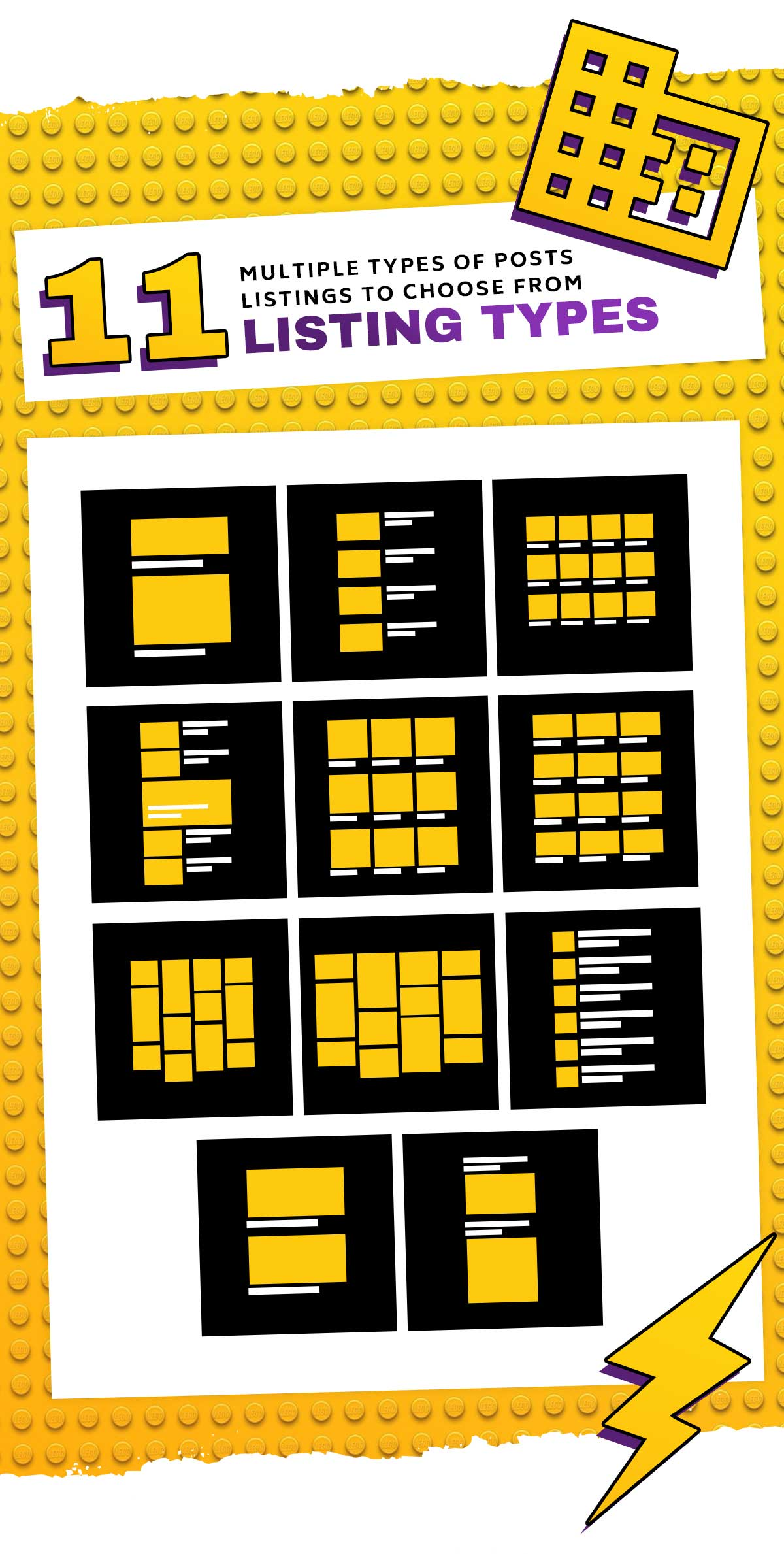 boombox new presentation listing types - BoomBox — Viral Magazine WordPress Theme