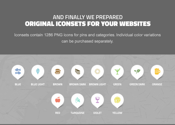 businessfinder icons - Business Finder: Directory Listing WordPress Theme