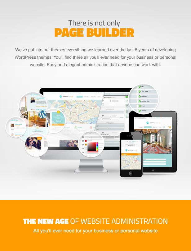 businessfinder page builder - Business Finder: Directory Listing WordPress Theme