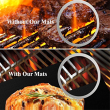 c0cb40df 9d36 4e8b 818d 63d8b7191630.  CR0,0,220,220 PT0 SX220 V1    - ACMETOP 6 Pack Large Grill Mat, Non Stick BBQ Grill Mat, Reusable Grill Mats with Two Oil Brushes, Easy to Clean Barbecue Grilling Accessories for Gas, Charcoal, Electric Grill - 19.69 x 15.75 Inch