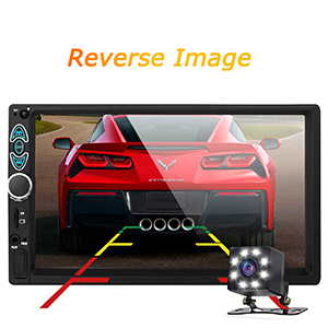 c0f100ee 3687 46a2 8944 451ef3bfda98.  CR0,0,300,300 PT0 SX300 V1    - Double Din Car Stereo-7 inch Car Stereo Upgrade Touch Screen,Compatible with BT TF USB MP5/4/3 Player FM Double din car Radio,Support Backup Rear View Camera, Mirror Link