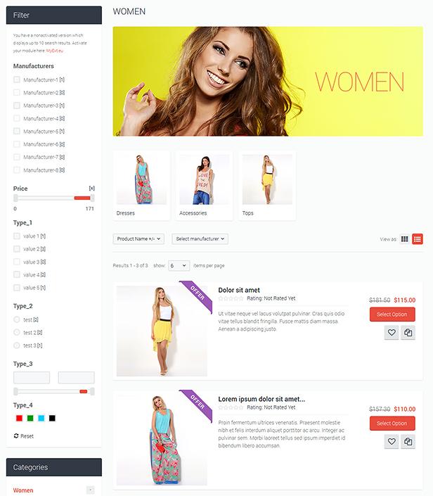 category page layout2 - Flatastic Responsive Multipurpose VirtueMart Theme