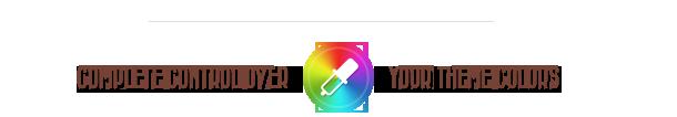 colors - Retro - Vintage WordPress Theme