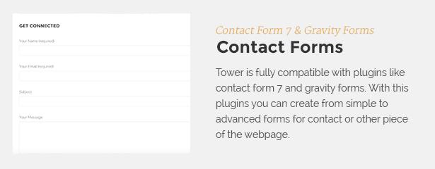 contactform - Tower | Business WordPress