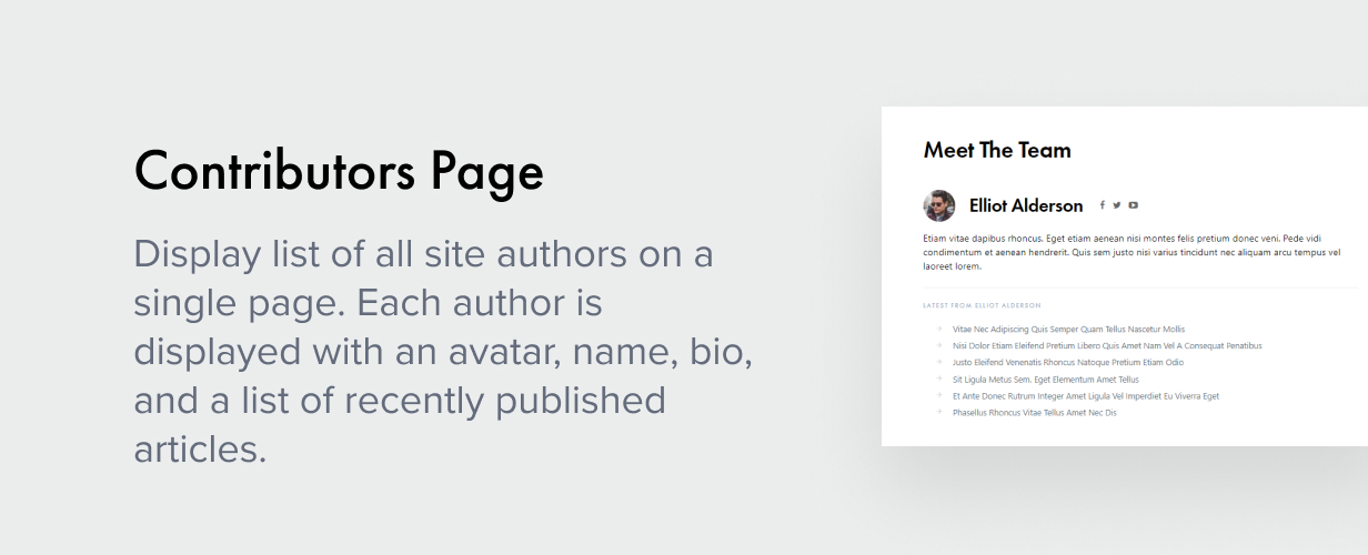 contributors page - Authentic - Lifestyle Blog & Magazine WordPress Theme