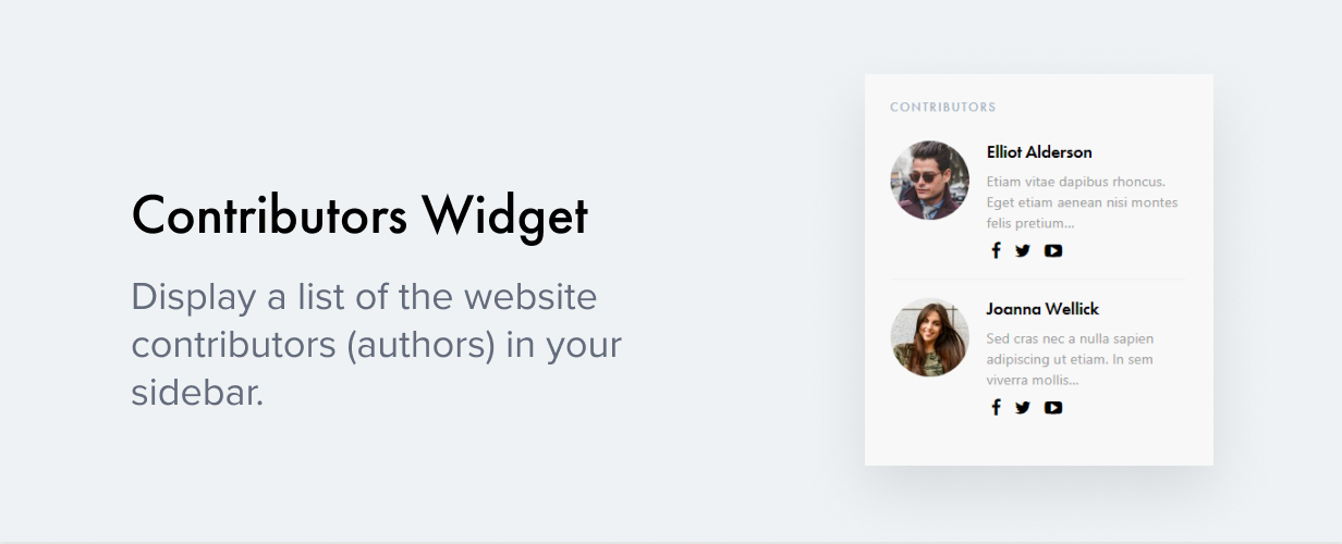 contributors widget - Authentic - Lifestyle Blog & Magazine WordPress Theme
