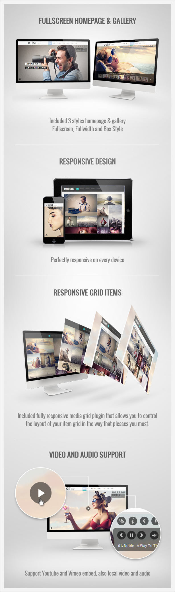 details mock up - Lenze - Portfolio Photography HTML Template