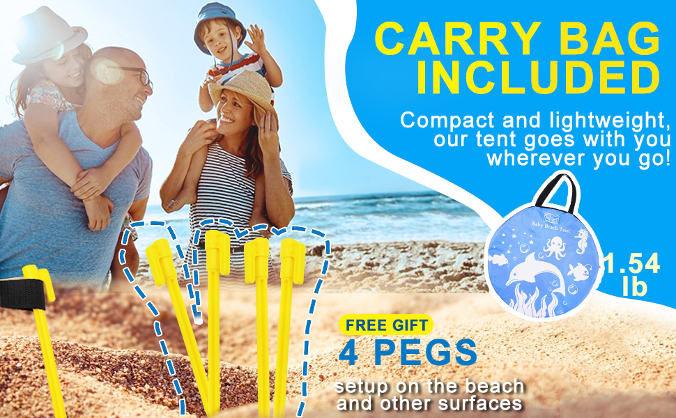 ee251c8c e813 4f05 8e70 4f3049562afa.  CR0,0,970,600 PT0 SX970 V1    - TURNMEON Baby Beach Tent with Pool,2020 Upgrade Easy Fold Up & Pop Up Unique Ocean World Baby Tent,50+ UPF UV Protection Outdoor Tent for Aged 0-4 Baby Kids Parks Beach Shade (Blue)