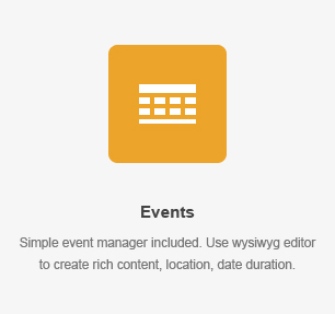 elm events - Business Finder: Directory Listing WordPress Theme