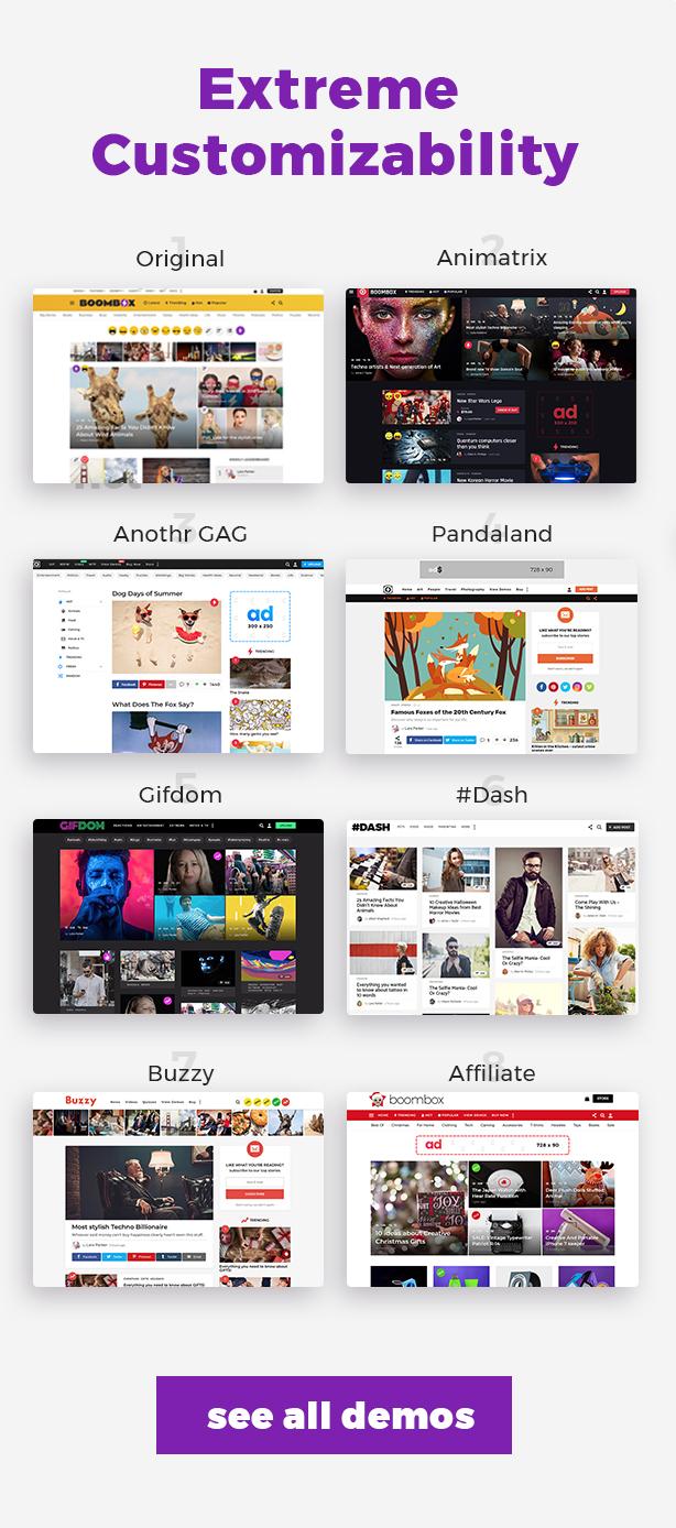 extreme custom - BoomBox — Viral Magazine WordPress Theme