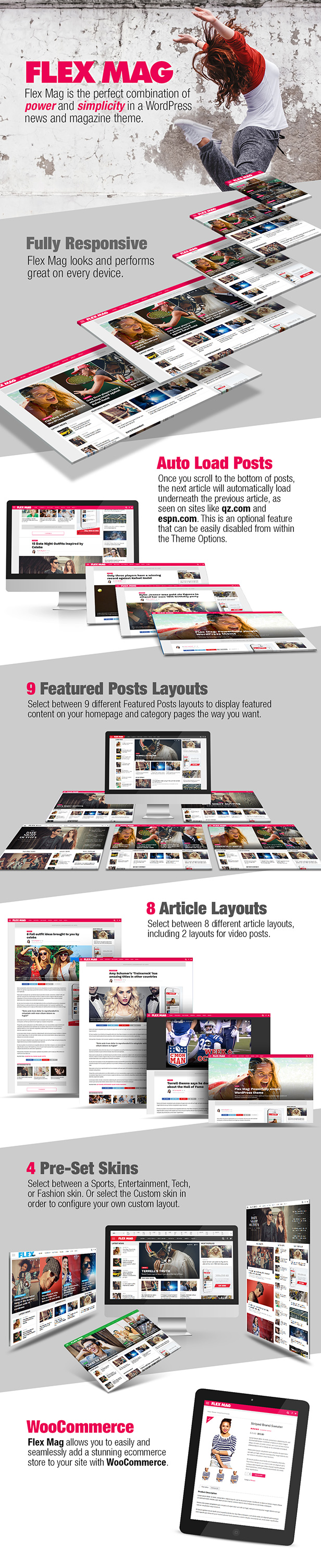 flex mag mockup - Flex Mag - Responsive WordPress News Theme