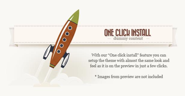 install n - Retro - Vintage WordPress Theme