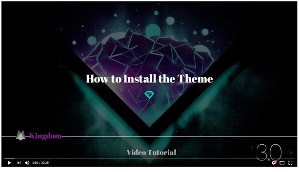 installtheme - Kingdom - WooCommerce Amazon Affiliates Theme