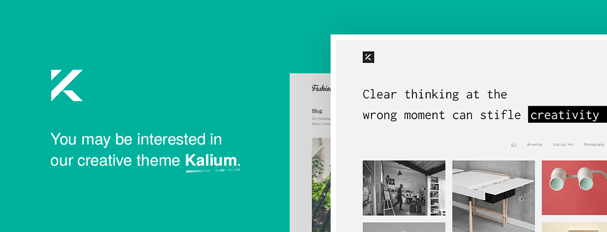 kaliumi - Oxygen - WooCommerce WordPress Theme