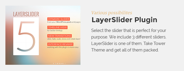layerslider - Tower | Business WordPress