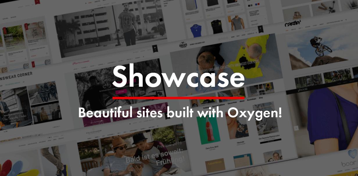 oxygen showcase - Oxygen - WooCommerce WordPress Theme