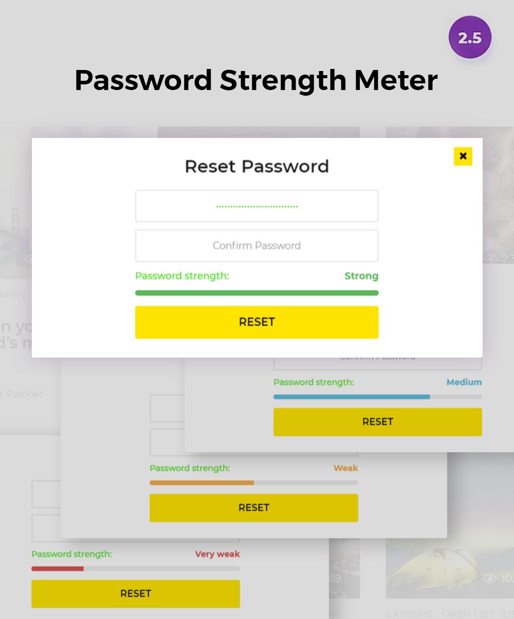 password strength meter - BoomBox — Viral Magazine WordPress Theme