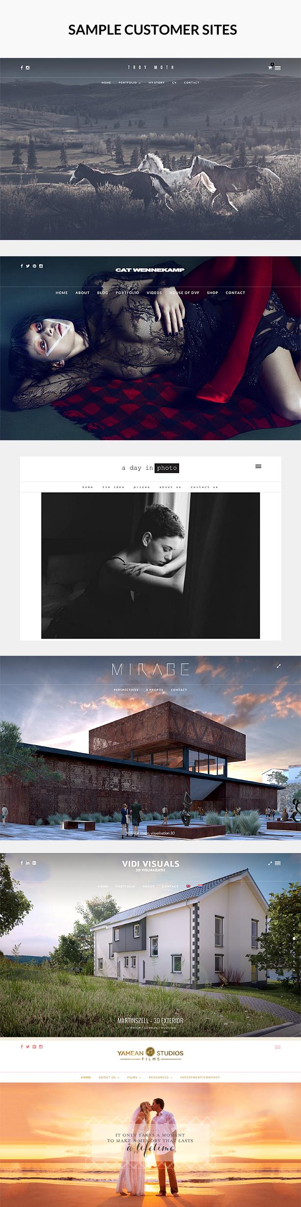photome customers2 - PhotoMe | Portfolio WordPress