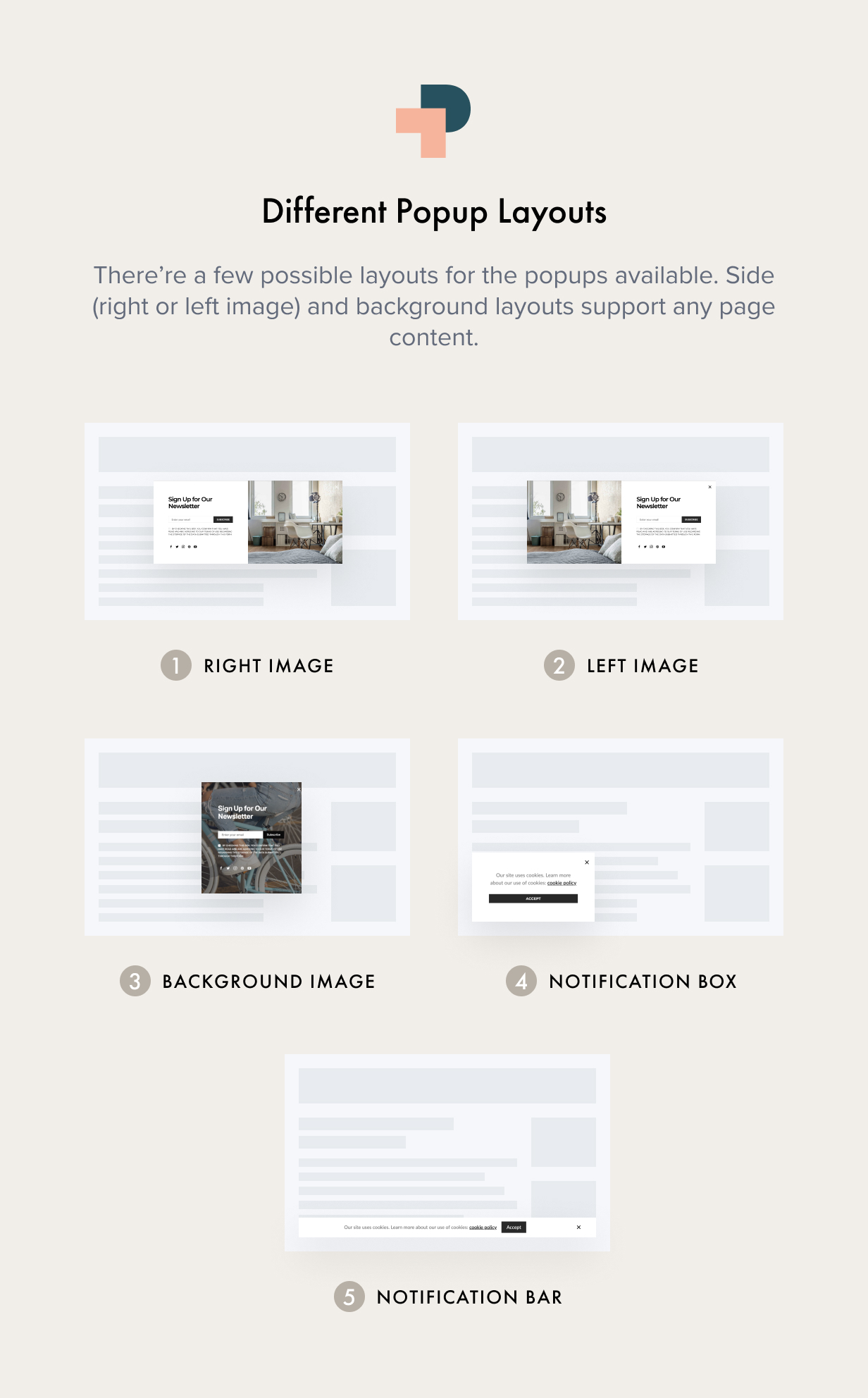 popups layouts - Authentic - Lifestyle Blog & Magazine WordPress Theme