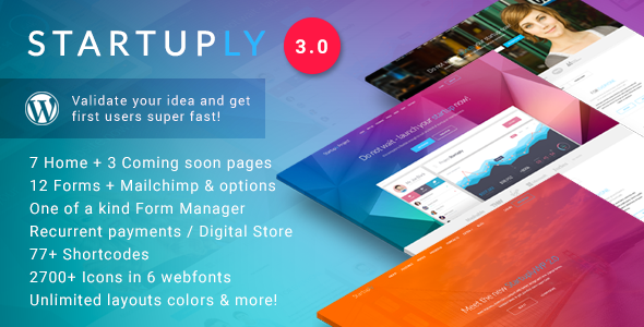preview 0.  large preview - Startuply —  Multi-Purpose Startup Theme