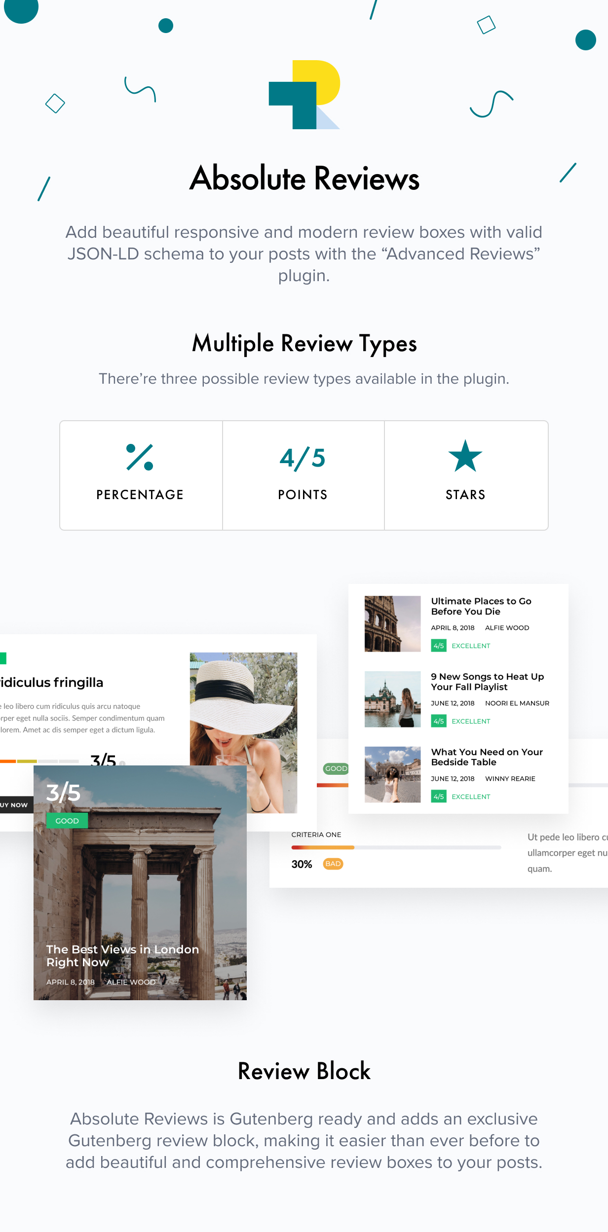 reviews - Authentic - Lifestyle Blog & Magazine WordPress Theme