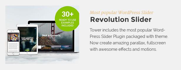revolution - Tower | Business WordPress