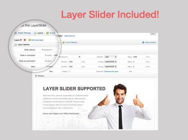 screen slider - Blue Diamond - Responsive Corporate WP Theme