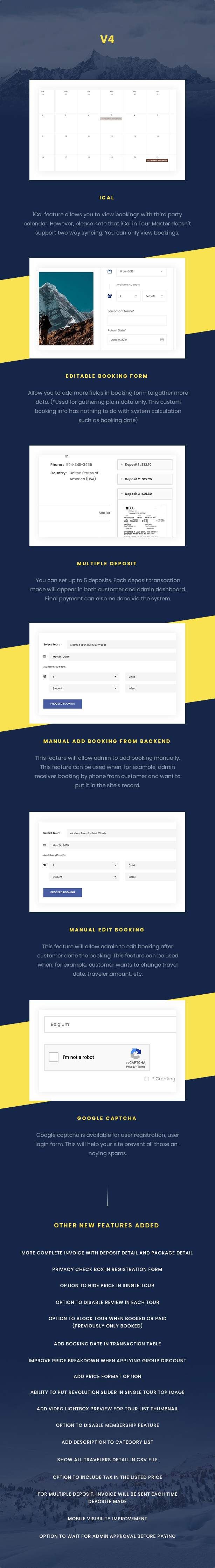 screen v4 features n2 - Travel Tour Booking WordPress