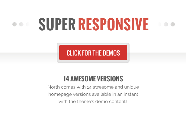second image - North - One Page Parallax WordPress Theme