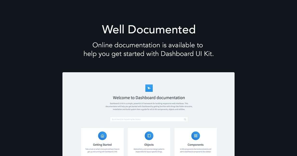 section5 - Dashboard UI Kit | Admin Dashboard Template & Web Application Framework