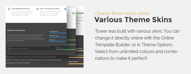 skins - Tower | Business WordPress