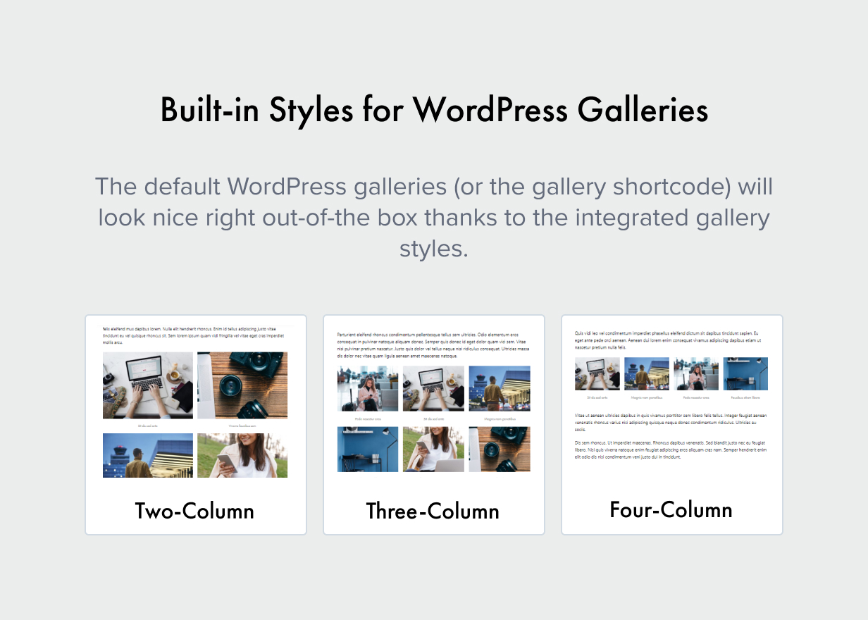 styles for galleries - Authentic - Lifestyle Blog & Magazine WordPress Theme
