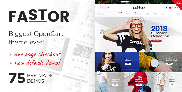 thumb.  large preview - Fastor - Multipurpose Responsive Opencart Theme
