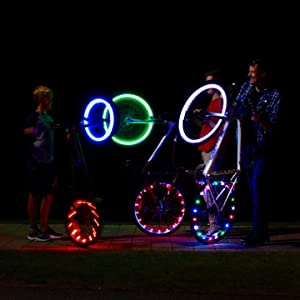 uZ6sQ6I9T5OM. UX300 TTW   - Activ Life LED Bike Wheel Lights with Batteries Included! Get 100% Brighter and Visible from All Angles for Ultimate Safety & Style (1 Tire Pack)