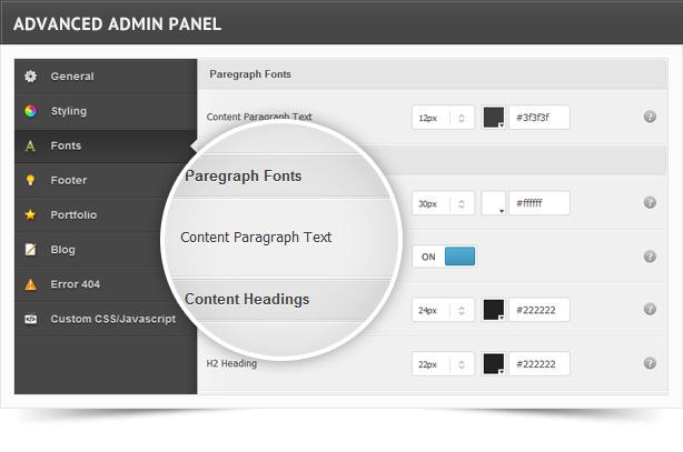 ultrawebstudio features sc - Ultra Web Studio, Blog & Portfolio Wordpress Theme