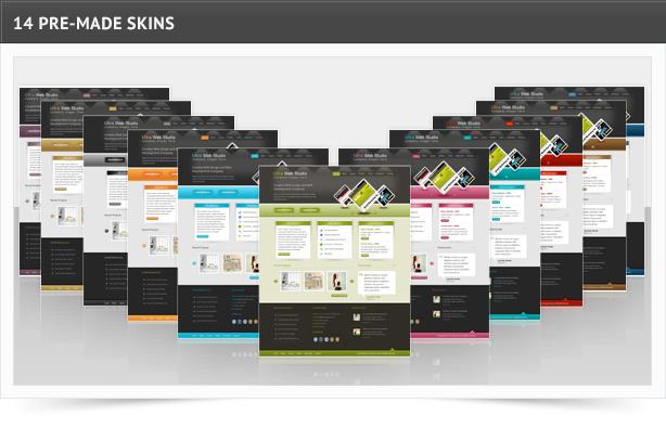ultrawebstudio features sc1 - Ultra Web Studio, Blog & Portfolio Wordpress Theme