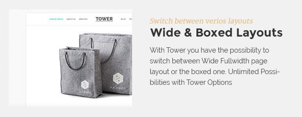 widebox - Tower | Business WordPress