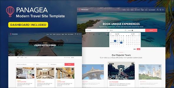 01 panagea tours hotels restaurants listing - CityTours - Travel and Hotels Site Template