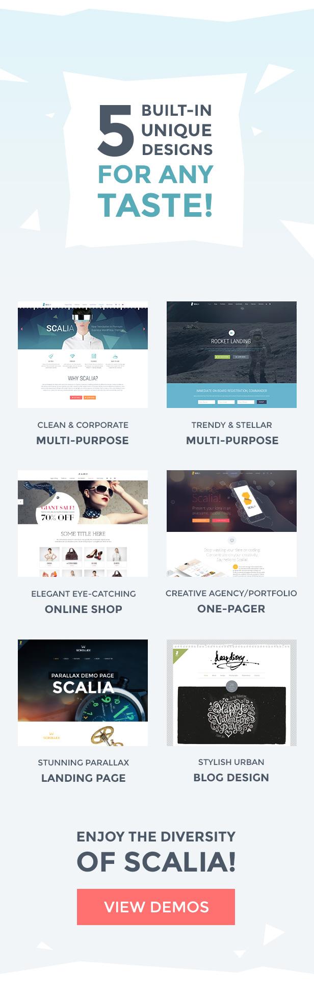 01 - Scalia - Multi-Concept Business, Shop, One-Page, Blog Theme