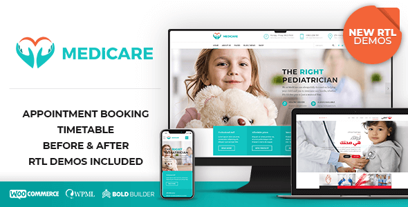 01 Medicare Theme Preview 1.  large preview - Medicare - Doctor, Medical & Healthcare